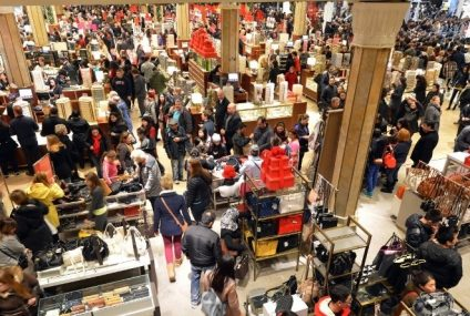Black Friday Causes Chaos