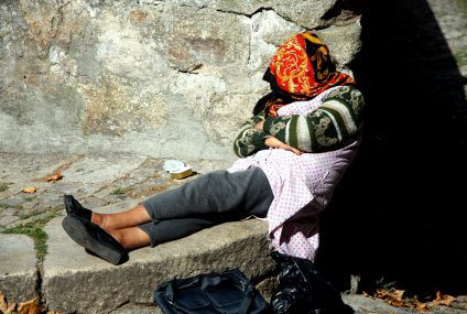 The Homeless Women in London