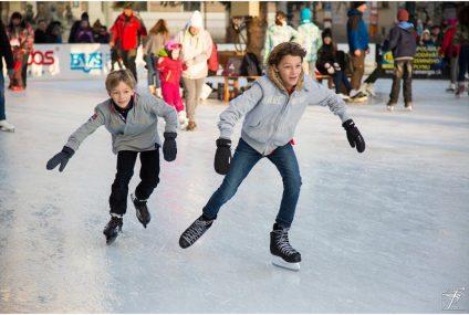 Ice-Skating At Somerset House
