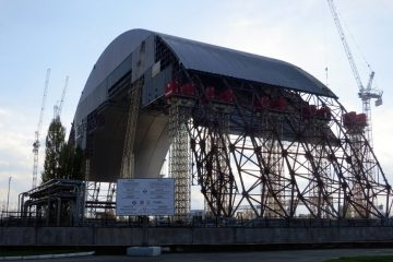 Chernobyl Site Gets A Brand New Arch