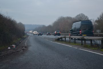 Woman Dead In 20-Car Pile Up